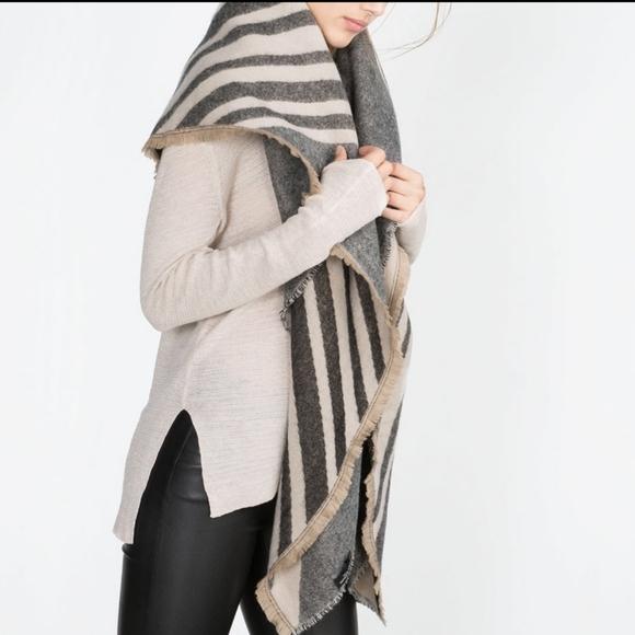 NWT! Zara Blanket Scarf